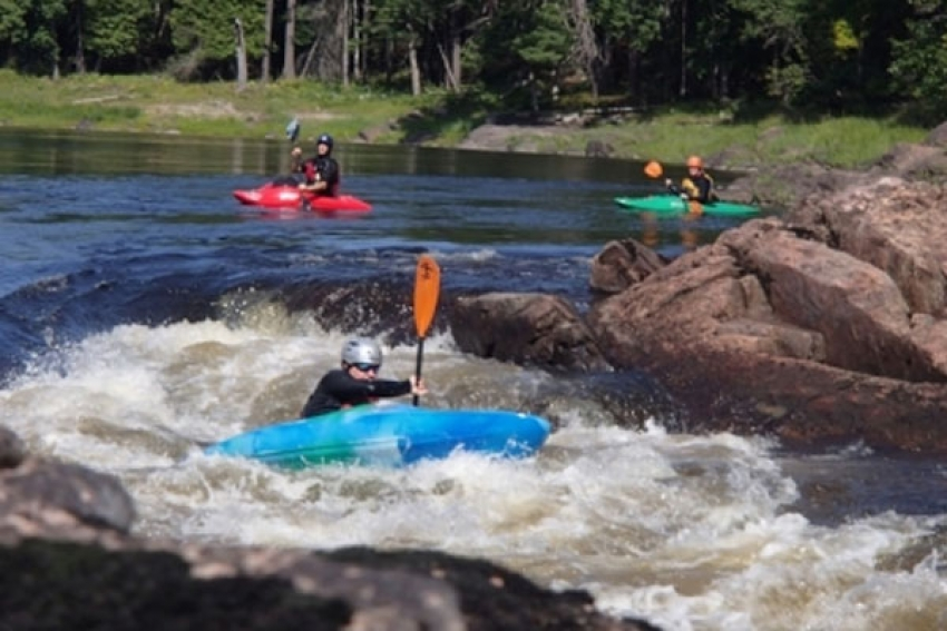 Whitewater Kayak Course